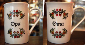 Opa Oma coffee Cup