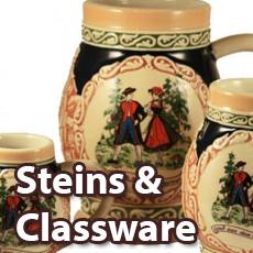 Steins & Glassware
