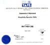 Certificate TAFE